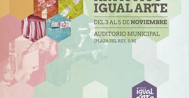 Cartel III Festival Artístico Igual Arte